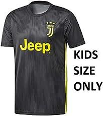 aaDDa Juventus Away Kids Jersey with Shorts 2018-2019