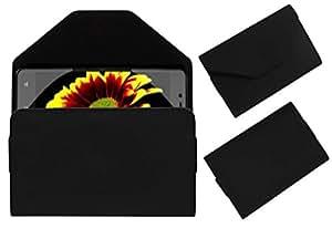 Acm Premium Pouch Case For Iberry Auxus Stunner Flip Flap Cover Holder Black