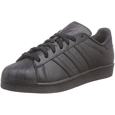 Adidas - Superstar Foundation, Sneakers da uomo - Scarpe Nero Low Baseball