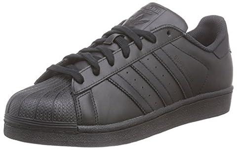 adidas Superstar Foundation, Sneakers Basses homme, Noir (Core Black/Core Black/Core