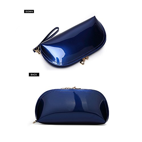 FavoMode, Borsetta da polso donna Royal Blue Bling