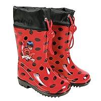 PERLETTI rain boots Ladybugsize 26/27 red