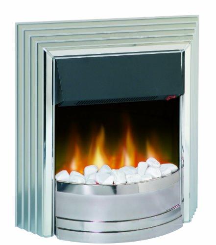 white electric fire. Black Bedroom Furniture Sets. Home Design Ideas