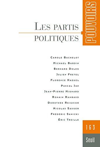 Pouvoirs numéro 163 Les partis politiques
