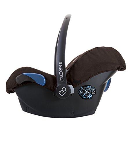 Maxi-Cosi Citi Babyschale (in Kombination mit allen Maxi-Cosi und Quinny-Kinderwagen und Buggys flexibel einsetzbar, Leichtgewicht und für das Flugzeug zugelassen, Gruppe 0+, bis 13 kg) earth brown