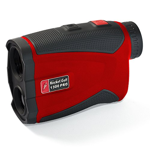 """Golflaser.de - Golf Laser Entfernungsmesser \""""Birdie 1300 Pro\"""" Red - RocketGolf"""