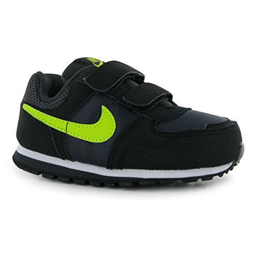 Nike Md Runner (Tdv), Chaussures mixte bébé Gris (Anthracite / Cyber-Black-White)