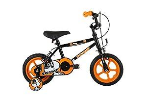Sonic Kids' Scamp Bike, Black, 12-inch