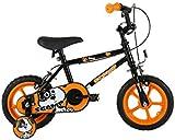Sonic MO1602 Kid's Scamp Bike, 12 inch Wheels - Black