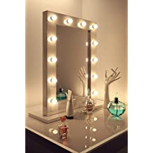 Miroir maquillage hollywood for Miroir hollywood
