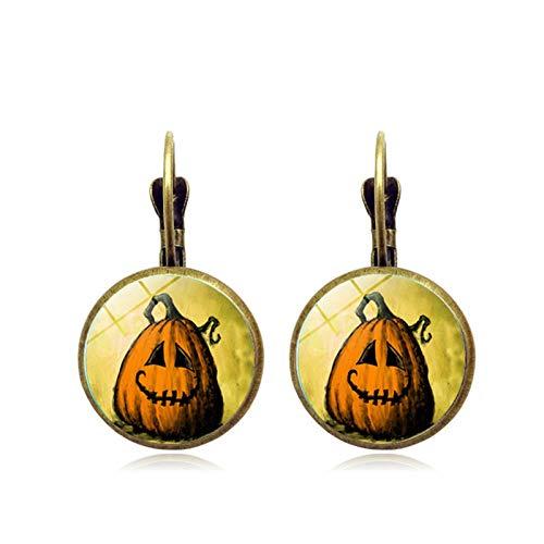 Blisfille Ohrringe Halloween Geheimnis Hexe Zeit Edelstein Ohrstecker Ohrschmuck Vintage Ohrstecker Ohrschmuck Herren Damen Geschenk