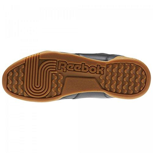 5b842fdb2a0077 ... Reebok Herren Workout Plus Sneaker Schwarz (Black Carbon Classic Red  Reebok Royal