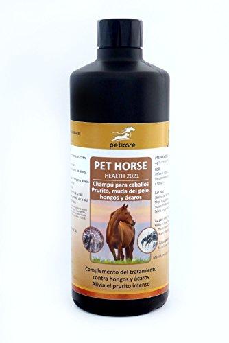 Champú especial para caballos con prurito, ácaros y hongos 500ml