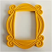 Photo Frame Family photo frame Friends Handmade Monica Door Frame Wood Yellow Mon Photo Frames Collectible Hom
