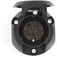 Dino 130080 12V Socket 12V 13–Pin ISO 11446 norms. - ukpricecomparsion.eu