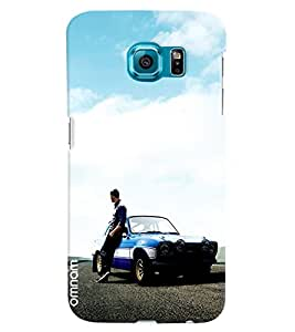 Omnam Paul Walker From Fast And Furious Pose Designer Back Cover Case For Samsung Galaxy S7 EDGE