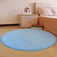 qingsun weich zimmer etage dusche rund matt antirutschmatte blau - Antirutschmatte Dusche Rund