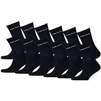 HEAD Unisex Sport Crew Socken Sportsocken MIT FROTTEESOHLE 12er Pack