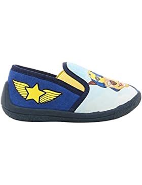 Paw Patrol Boys Kids Houseshoes Slipon, Zapatillas de Estar por casa para Niños