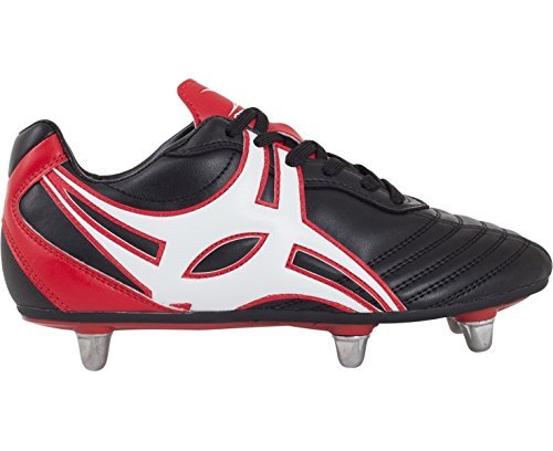 Sidestep XV SG 8 Crampons - Crampons de Rugby - Noir/Rouge