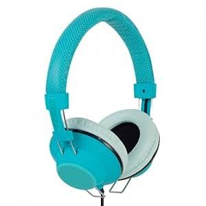 Incipio F38 Hi-Fi Turquoise Supraaural casque - casques (Supraaural, Avec fil, 10 - 20000 Hz, turquoise)