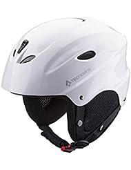 Tecno Pro Base Casco de esquí, unisex, color Weiß, tamaño large