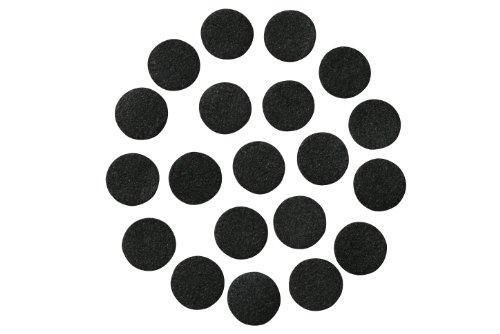 Schwarz Filzklebepunkte; 1/5,1cm breit, 3/10,2cm breit, 2,5cm breit oder 3,8cm breit; verschiedene Paket Größen; den Bereichen Großhandel, sterben; DIY Projekte 240 Count 3/4