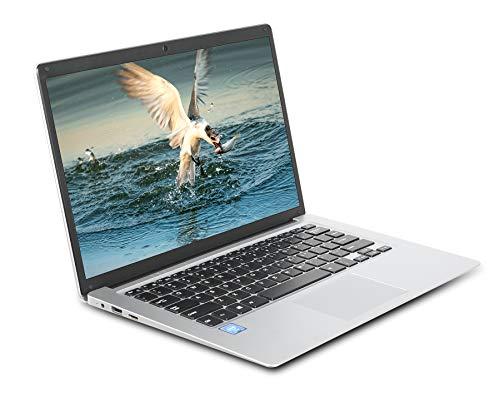 GOODTEL Netbook 14 Pouces Ordinateur Portable, Intel Atom X5-E8000 Quad Core, 4 Go de RAM et 64 Go de Stockage, 1080p IPS Full HD, Windows10 Laptop (M.2 Slot, WiFi, USB)