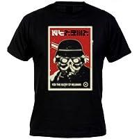Comparador de precios Camiseta Killzone Helghast (cartel) manga corta (Talla: Talla XL Unisex Ancho/Largo [58cm/76cm] Aprox]) - precios baratos