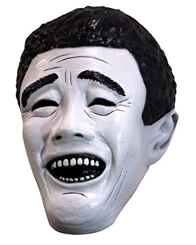 Basketball Maske als kultige Internet Meme Comic Verkleidung ()