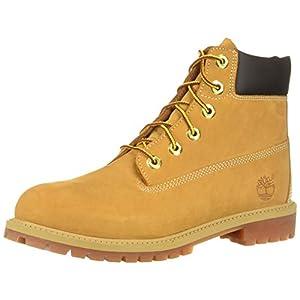 timberland 6-inch premium waterproof unisex juniors ankle boots