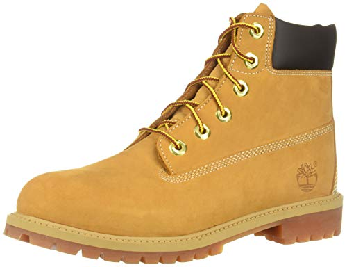 Timberland Unisex Kids Classic Boots, Yellow (Wheat Yellow), 5 Child Uk (22 Eu)