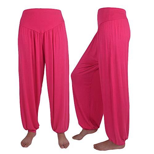 25497223d Zilosconcy Pantalones De Yoga, para Mujer EláStico Flojo Informal De  AlgodóN Suave, Yoga, Deportes, Danza, Pantalones De HaréN, Linterna, ...