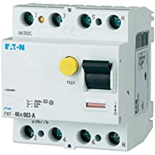 Eaton 236776 - Interruptor diferencial (4 pines, 40 A, 30 mA, PXF-40/4/0,03 A)