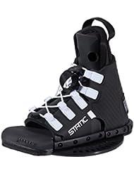 Jobe Bindungen Static Bindings - Botas de wakeboarding, color negro, talla Mini