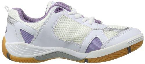 Bruetting Hit Indoor, Scarpe sportive indoor donna Bianco (Weiß (weiß/lila/silber))
