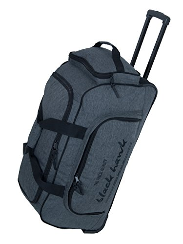 TRAVEL Bag-Trolley, Roll-Reisetasche, Sport-Trolley, Mega-Volumen-Reisetasche, (Dunkelgrau)