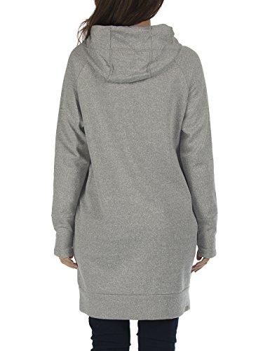 Bench Damen Kapuzenpullover Dreamlike Grau (Neutral Grey Marl GY075X)