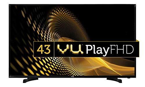 VU 108 cm (43 Inches) Full HD LED TV 43S6575 (Black)