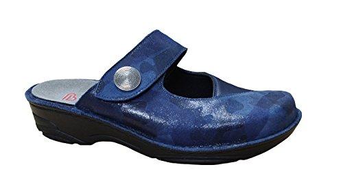 Berkemann Sabots Ladies Sunray 03457-390 bleu blau