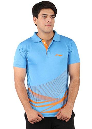 Li-Ning Blue Polo T-shirts