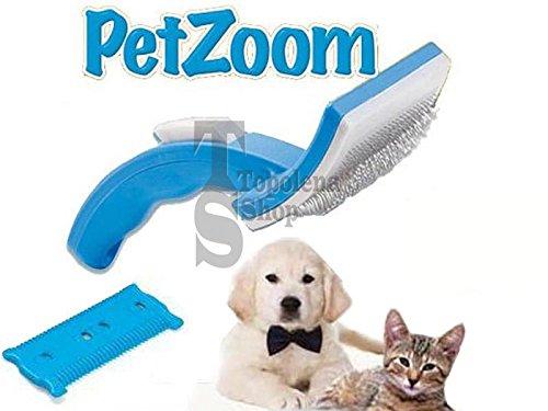 Zoom IMG-1 tradeshoptraesio petzoom spazzola autopulente pettine