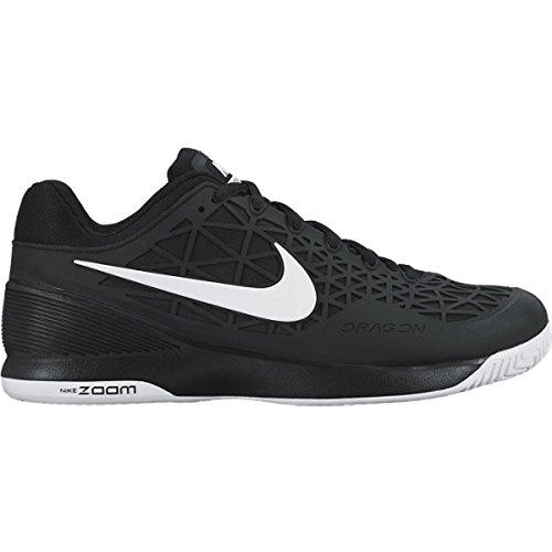 Nike Jungen Zoom Cage 2 Turnschuhe, Schwarz / Weiß (Schwarz / Weiß), 36 1/2 EU