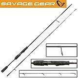 Savage Gear Black Savage Spin 231cm 9-32g Spinnrute, Spinnruten, Rute für Barsch, Forelle & Zander, Forellenrute, Zanderrute