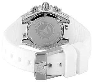 TechnoMarine TM-115038 - Reloj de pulsera Mujer, Silicona, color Blanco de Technomarine