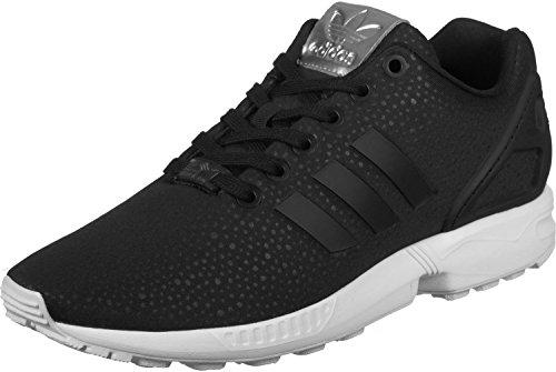 adidas Zx Flux, Sneakers Basses Femme Noir (Core Black/core Black/silver Metallic)