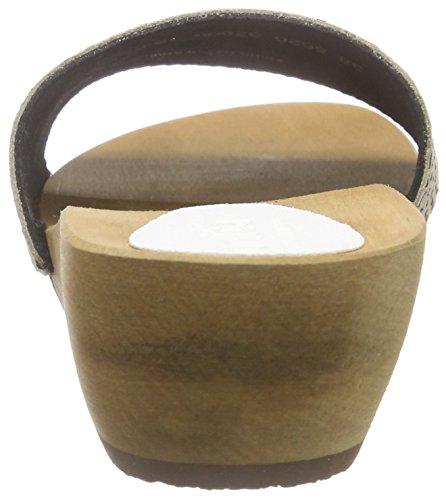 Sanita - Dine Round Flex Sandal, Ciabatte Donna Beige (Beige (Beige 24))