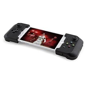 GAMEVICE – GV157 Dual Analog Lightning Controller für iPhone,  mit Pads & Triggers,  patentierte Technologie, Joystick,  Kopfhörer- & Lightning-Anschluss,  Gaming Zubehör für iPhones – Schwarz