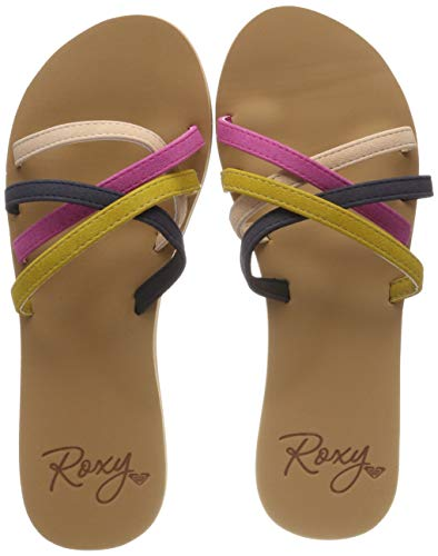 Roxy Abbie, Chaussures de Plage & Piscine Femme, Multicolore (Multi 2 Mu2), 39 EU