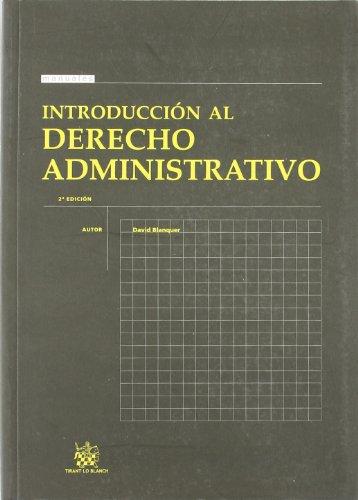 Introducción al Derecho Administrativo por David Blanquer Criado
